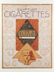 Louis Heymans, Design for poster 'Egyptian Cigarettes', 1920s - Laurentius (Louis) Heymans