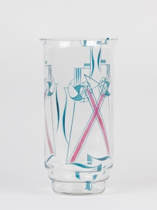 Jaap Gidding, Dutch Art Deco stained glass vase, ca. 1927 - Jaap Gidding