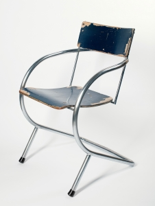 Paul Schuitema and d3, Cantilever tubular steel chair, model 32, 1932 - Paul Schuitema