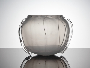 A.D. Copier, Unique vase of opalescent glass, Glass Factory Leerdam, 1949 - Andries Dirk (A.D.) Copier