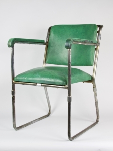 H.F. Mertens, Chromed tubular steel chair, executed by HOPMI and USM Pastoe, 1932 - Hermann Friedrich Mertens