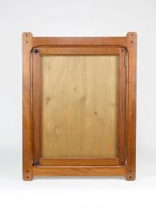 Jac. van den Bosch for 't Binnenhuis, Dutch Art Nouveau mahogany frame, ca. 1902 - Jac. (J.P.) van den Bosch