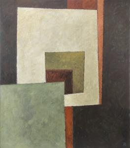 Pieter Borstlap, No title, acrylic on canvas, 2002 - Pieter Borstlap
