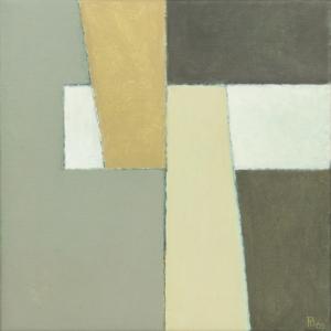 Pieter Borstlap, Zonder titel, acrylverf op doek, 2005 - Pieter Borstlap