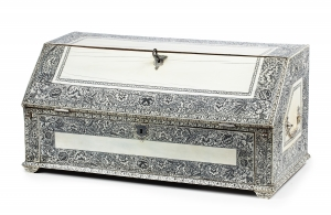 Ivory miniature bureau | Vizagapatam