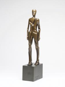 Mario Rossello, Bronze sculpture, 'Uomo', 1978 - Mario Rossello