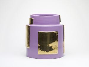 Élisabeth Garouste & Mattia Bonetti, Ceramic vase 'Kim', 90s - Mattia Bonetti