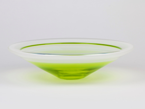 Floris Meydam, Unique glass bowl, executed by Neil Wilkin, Wimborne, 1992 - Floris Meydam