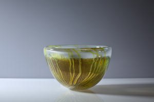 Willem Heesen, Unique bowl 'Gant', De Oude Horn, 1991 - Willem Heesen