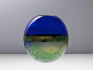 Willem Heesen, 'Waterkant', unique vase, Oude Horn, 2001 - Willem Heesen