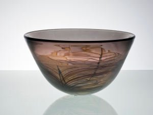 Willem Heesen, Unique bowl 'Sloot', 1985 - Willem Heesen