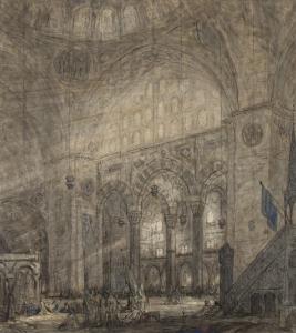 Interior Süleymaniye Mosque - Marius Bauer
