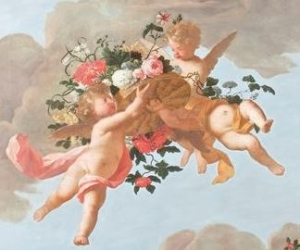 Ceiling painting by Mattheus Terwesten and Caspar Peeter Verbruggen II