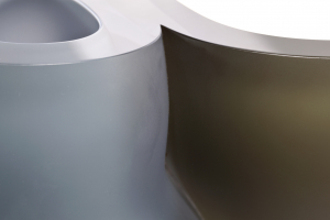 Menno Jonker, uniek glaskunstobject getiteld: 'Soft Intro-Extro' - Menno Jonker