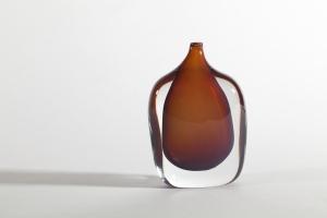 Floris Meydam, Unique glass bottle, Leerdam, 1957 - Floris Meydam