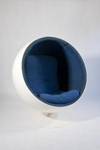 Eero Aarnio, Original Vintage 'Ball Chair', Adelta, Design 1963, Execution Early 1970s - Eero Aarnio