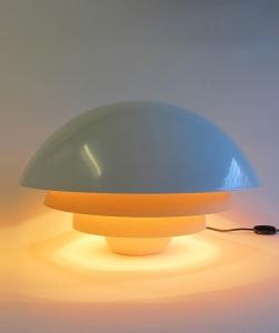 Sergio Asti, Tafellamp 'Visiere', Model 642, Martinelli Luce, 1970 - Sergio Asti