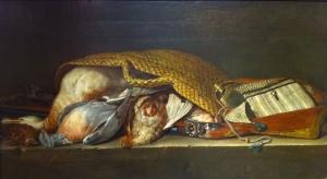 Still life  with wild - Pieter Andreas Rysbrack - Pieter Andreas Rysbrack