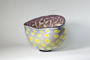 Peter Bremers, Bowl with Graal Technique, 2001 - Peter Bremers