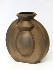 Jan van der Vaart, Bronze Glazed Stoneware Vase, multiple, 2000 - Jan van der Vaart