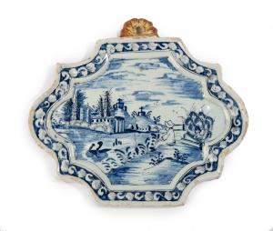 Delftware plaque