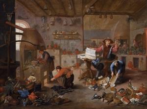 The Alchemist - Mattheus van Helmont