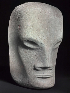 Bernard Richters, Dolomite mask sculpture, 1920s - Bernard (B.J.) Richters