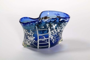 Willem Heesen, Studio Glass One-Off, 'Cherry Orchard', Studio De Oude Horn, 1982 - Willem Heesen