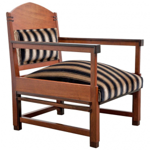 C. Bartels, Amsterdam School armchair, 1920s - C. Bartels