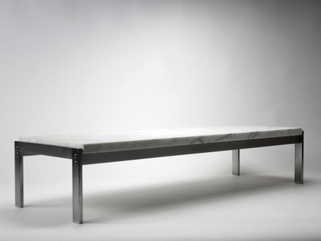 Poul Kjærholm, Marble side table, Model PK 62, executed by Kold Christensen, 1968 - Poul Kjaerholm