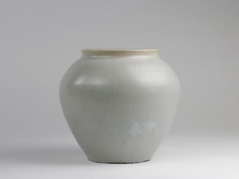 Chris Lanooy, Geglazuurd aardewerken vaas, jaren '30 - Chris (C.J.) Lanooy