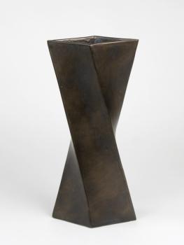 Jan van der Vaart, Hoge brons geglazuurde vaas, multipel, 1976 - Jan van der Vaart