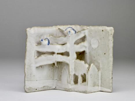 Marja Hooft, Keramisch object, ca. 1980 - Marja Hooft