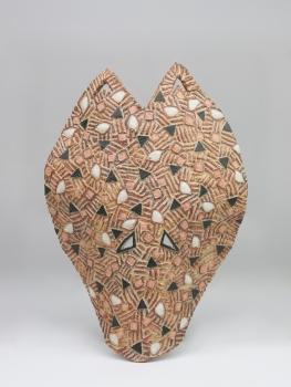 Johnny Rolf, 'Mask II', stoneware, 1986 - Johnny Rolf