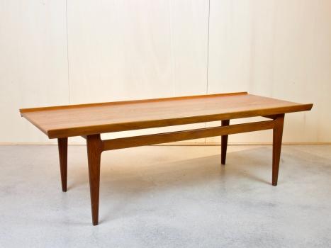 Finn Juhl voor France & Son, Teakhouten salontafel, 500 serie, 1958 - Finn Juhl