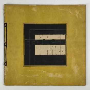 Wendingen, Lyonel Feininger, omslagontwerp Tine Baanders, 1929, nummer 7 - Tine Baanders