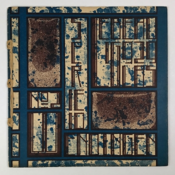 Wendingen, Glass by Chris Lebeau, cover design Chris Lebeau, 1929, edition 2 - Chris (J.J.C.) Lebeau