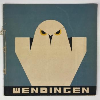 Wendingen, Visual work of S. Jessurun de Mesquita, 1931, edition 1 - Samuel Jessurun de Mesquita