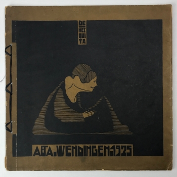 Wendingen, De Mesquita, omslagontwerp Samuel Jessurun de Mesquita, 1925, nummer 1 - Samuel Jessurun de Mesquita