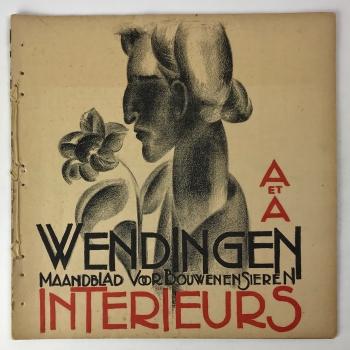 Wendingen, Interieurkunst, omslagontwerp Otto B. de Kat, 1927, nummer 2 - Otto Boudewijn de Kat