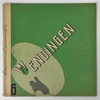 Wendingen, Pyke Koch, omslagontwerp Arthur Staal, 1931, nummer 6 - Arthur Staal
