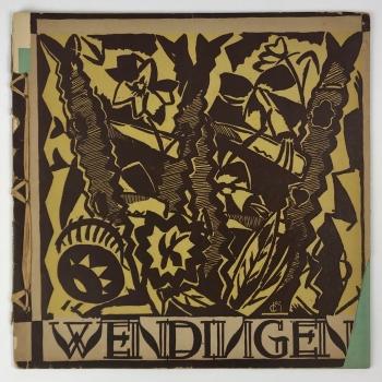 Wendingen, Art of the Hungarians, cover design Jozef Cantré, 1920, edition 5 - Jozef Cantre