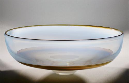 A.D. Copier and Jan Erik Ritzman, Unique large bowl, Stenhytta, Sweden, 1983 - Andries Dirk (A.D.) Copier