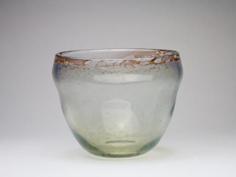 A.D. Copier, Unique vase with opalescent glaze, Glass Factory Leerdam, 1946 - Andries Dirk (A.D.) Copier