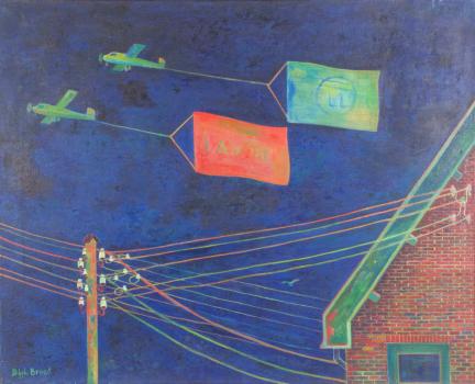 Dirk Breed, 'Sleep', oil on canvas, signed 'Dirk Breed', 80 x 65 cm - Dirk Breed