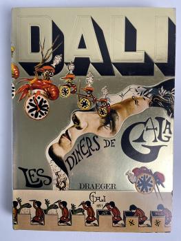 Salador Dali, Les diners de Gala, published by Draeger, Parijs - Salvador Dali