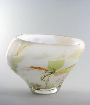 Sybren Valkema, Leerdam Unica, art glass vase, 1981 - Sybren Valkema