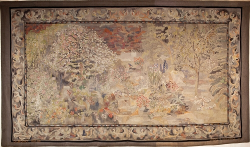 C.A. Lion Cachet, Wall tapestry 'Spring', executed by the atelier of J.F. Semey, 1927 - Carel Adolph (C.A.) Lion Cachet