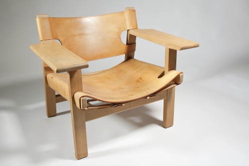 Børge Mogensen, Spanish Chair, design 1958, execution ca. 1970 by Fredericia Stolefabrik - Børge Mogensen