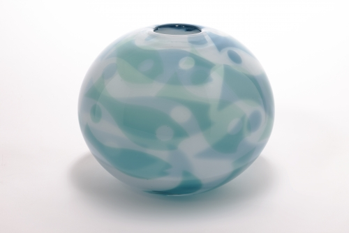 Willem Heesen, Unique vase, 'Deep sea' series, De Oude Horn, 2001 - Willem Heesen